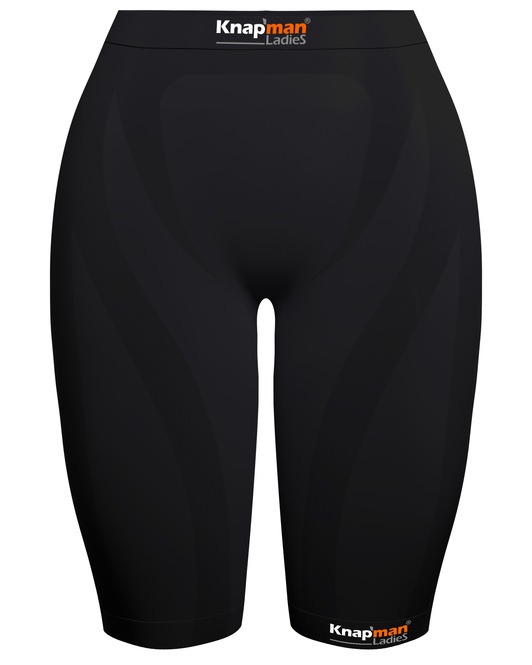 Knap'man Ladies Zoned Compression Short 45% black