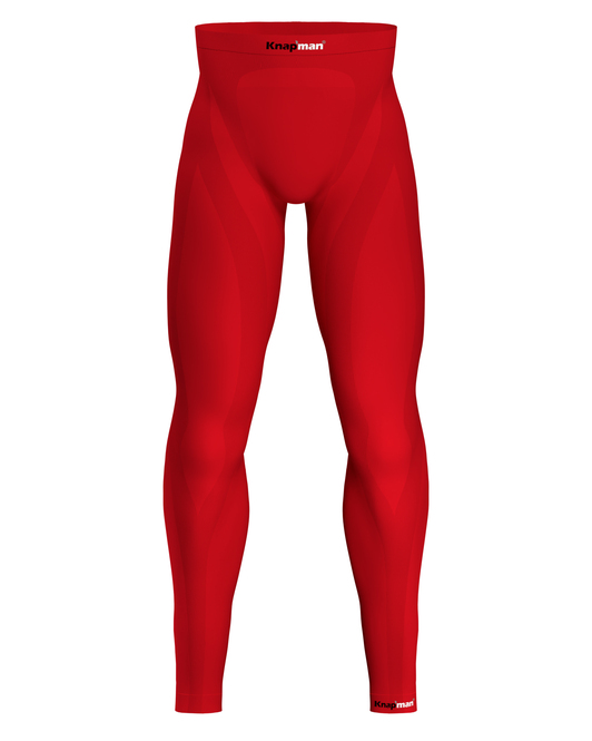 Knap'man Zoned Compression Tights 25% red