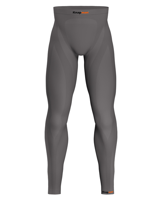 Knap'man Zoned Compression Tights 45% grey