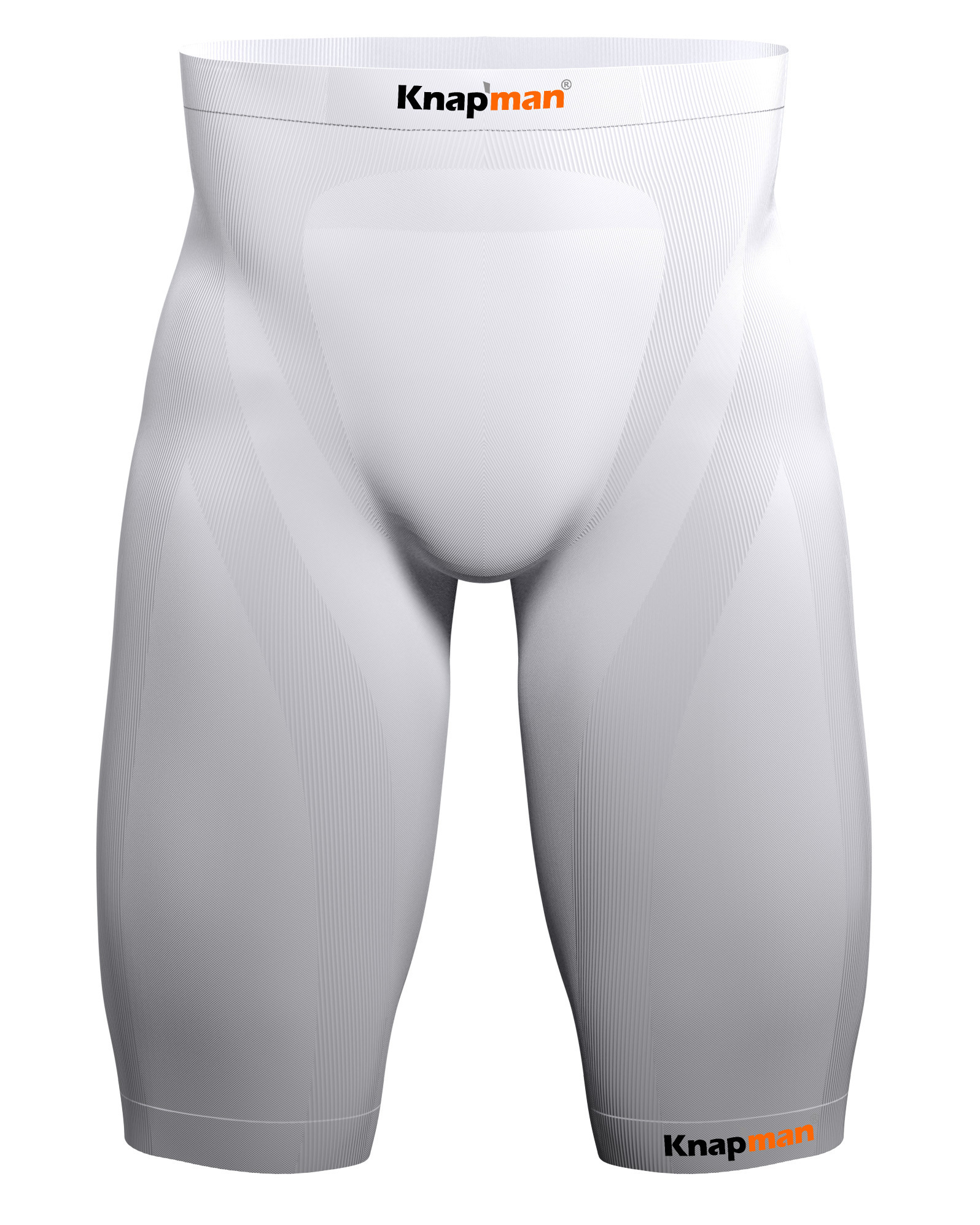 Knap'man Zoned Compression Short USP 25% white