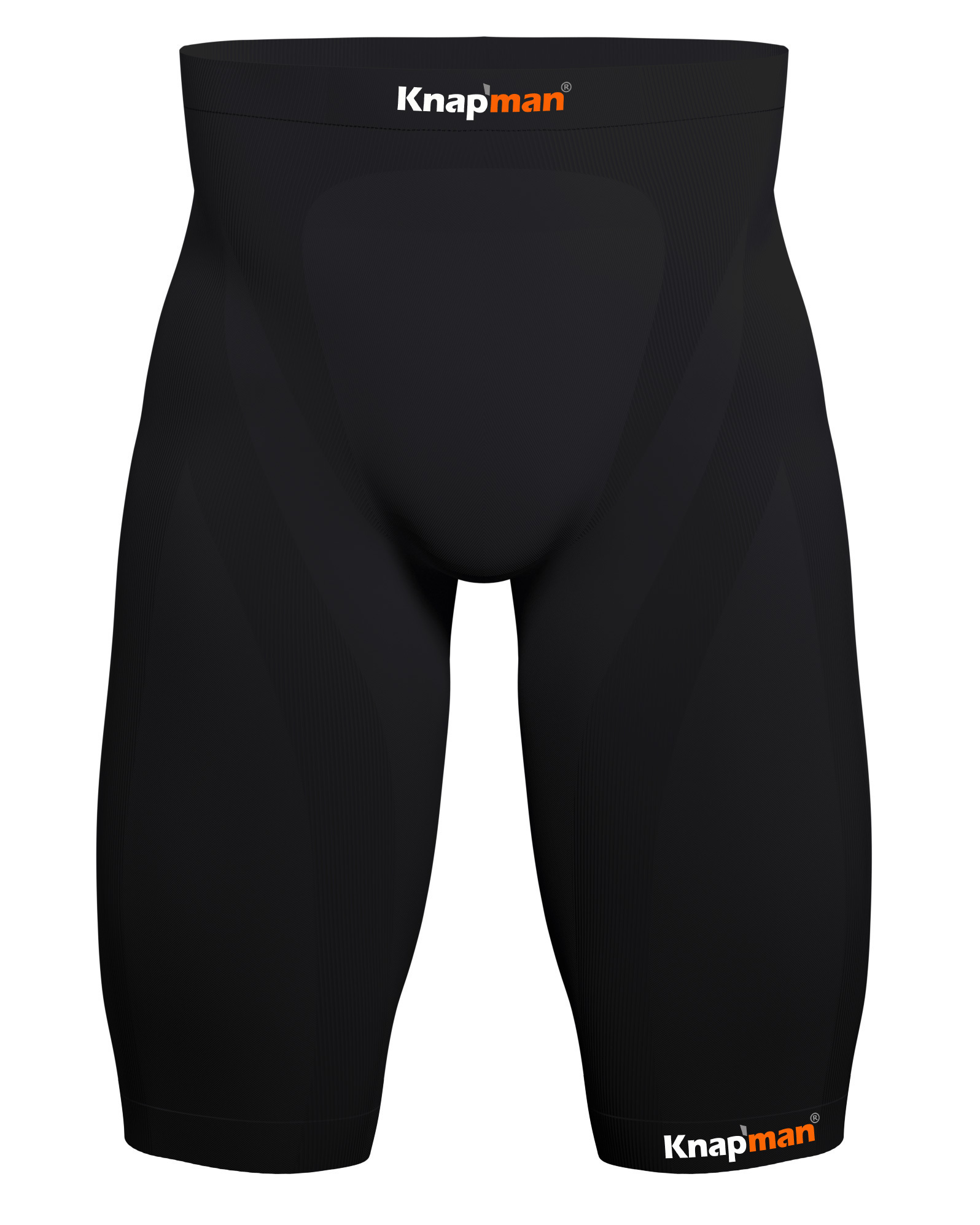 Knap'man Zoned Compression Short USP 25% black