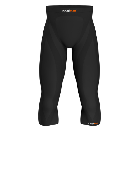 Knap'man Zoned Compression 3/4 Tights 45% Compression