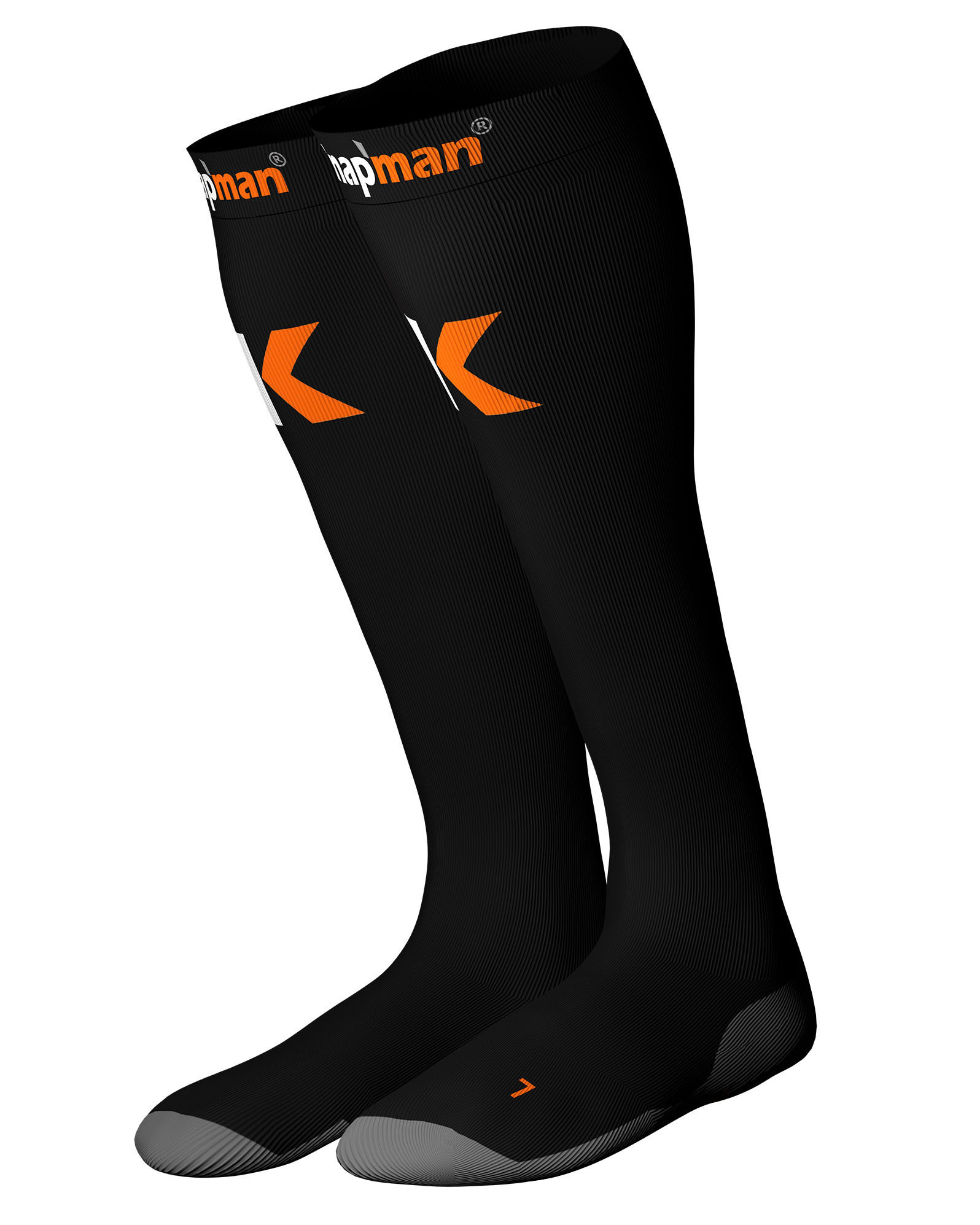 Knap'man Ultra Strong Compression Socks Black