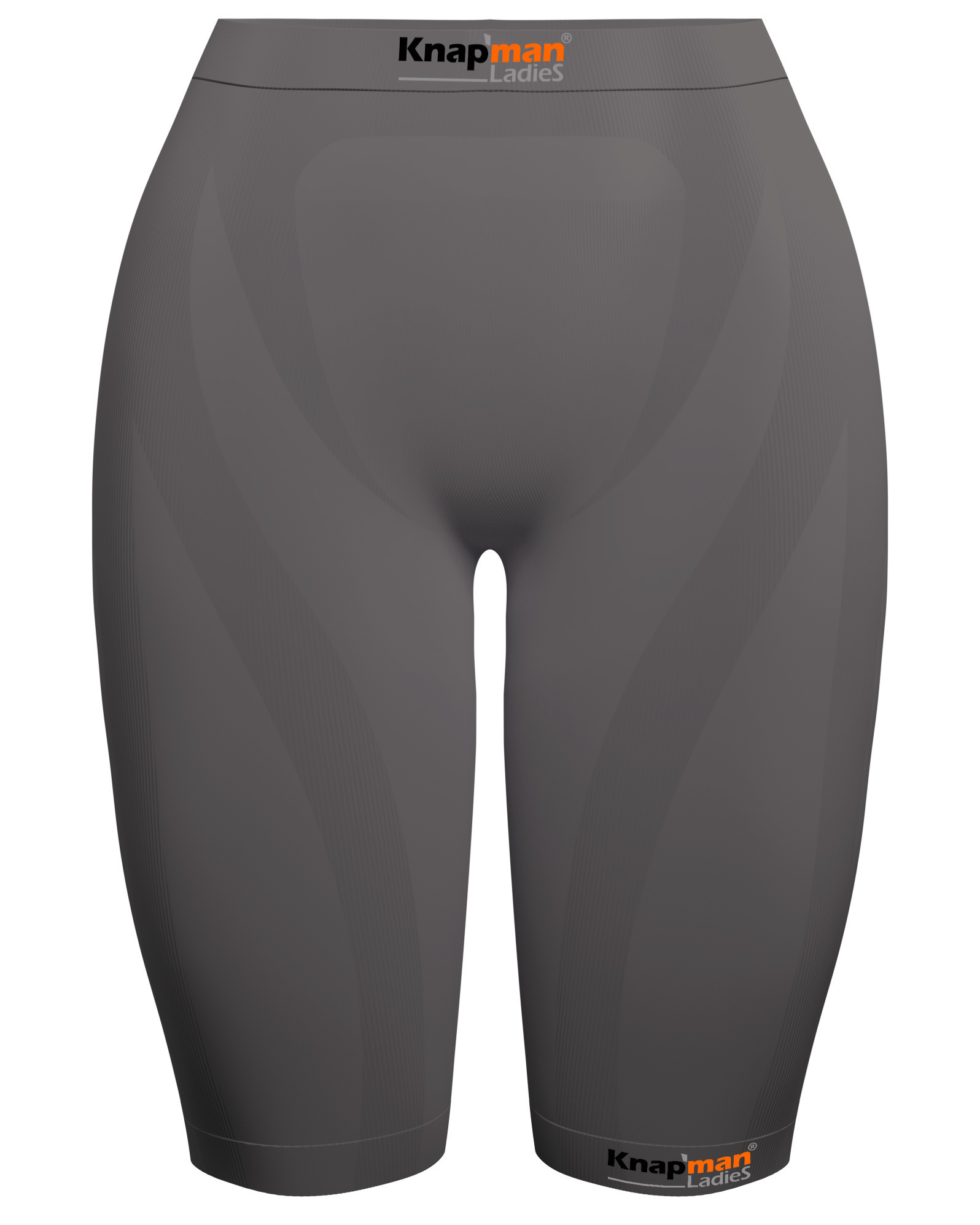 Knap'man Ladies Zoned Compression Short 45% grey