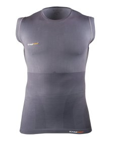 Knap'man Sleeveless Compression Shirt Gray
