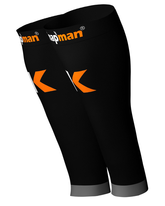 Knap'man Active Strong Compression Calf Sleeves black