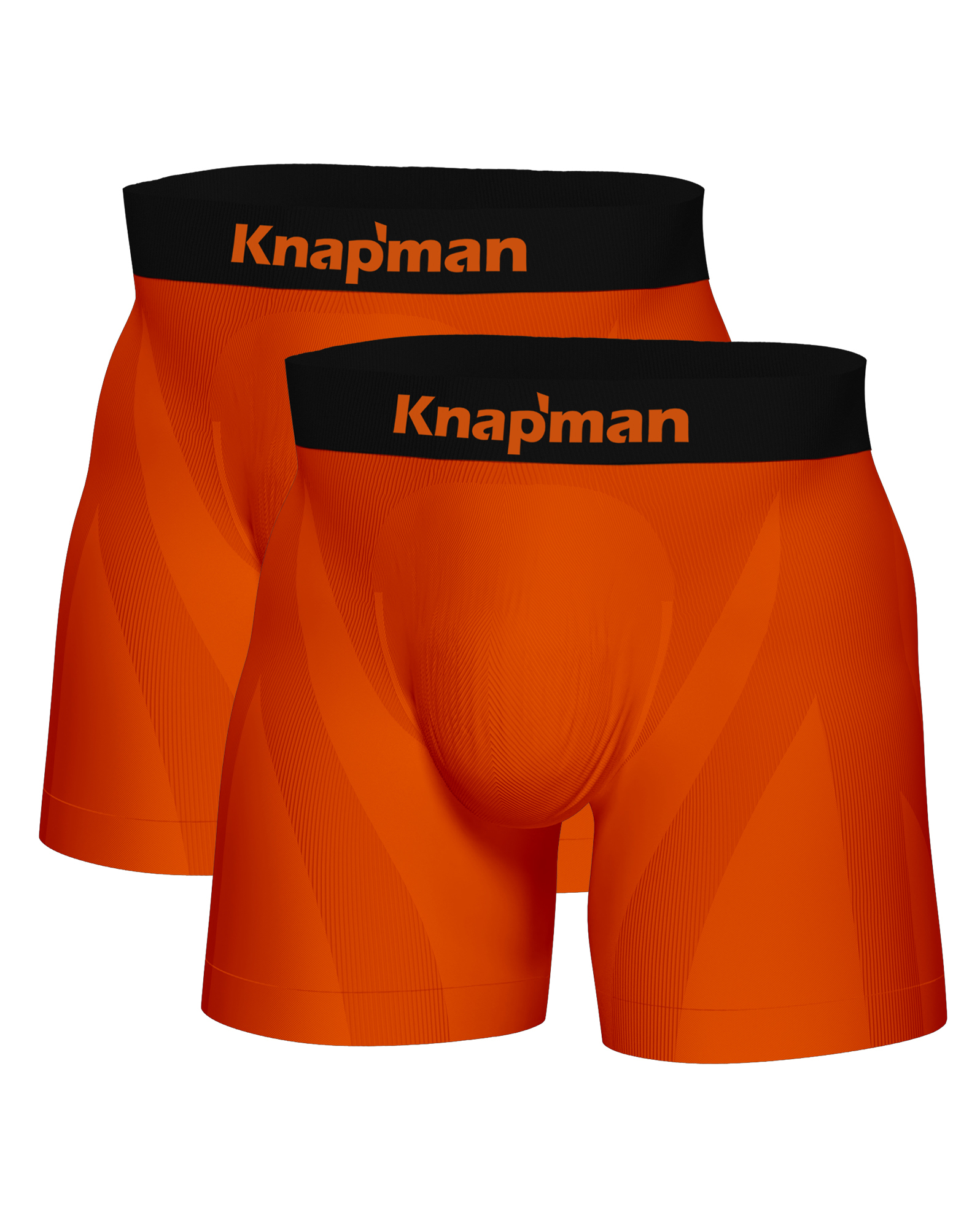Knapman Ultimate Comfort Boxershort 3.0 Orange | Twopack