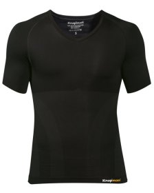 Knap'man compression shirt v-neck black
