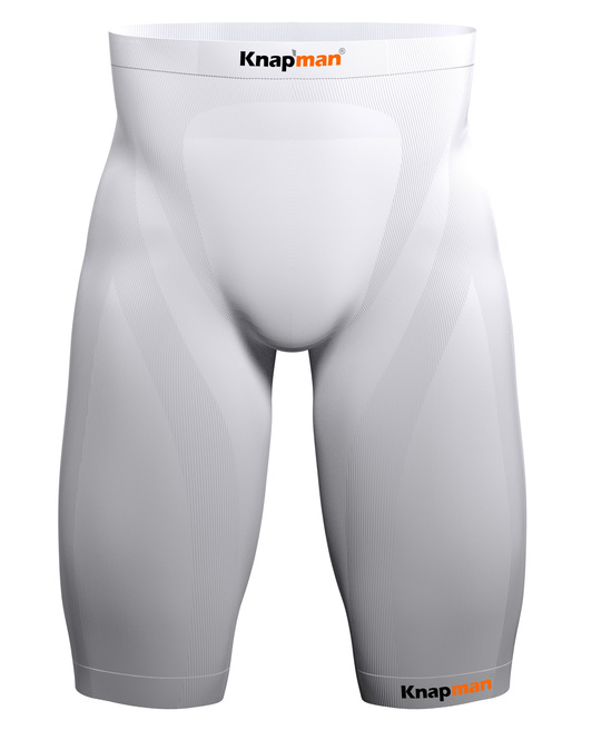 Knap'man Zoned Compression Short USP 45% white